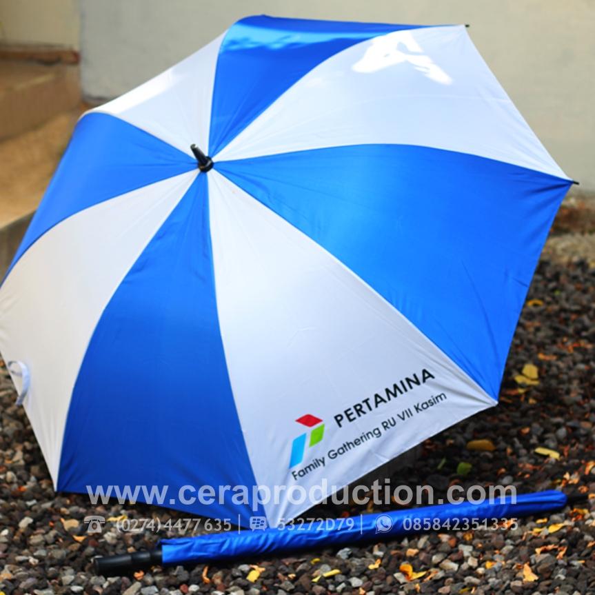 Harga Payung Promosi Semigolf di Ceraproduction.com