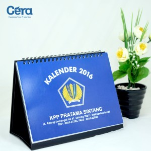 Souvenir Kantor Pajak Pratama (KPP) - Kalender Meja KPP Pratama Sintang