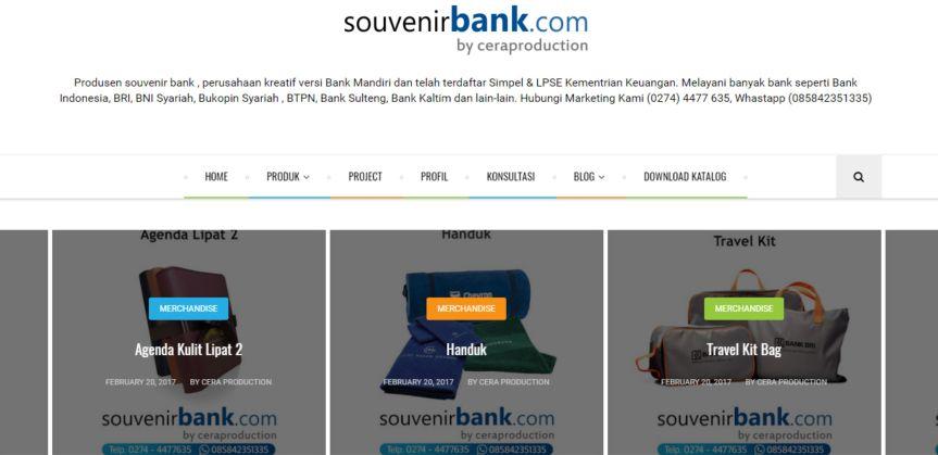 Situs Souvenir Bank - Souvenir Perbankan