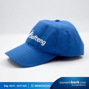 souvenir bank - topi bank sulteng