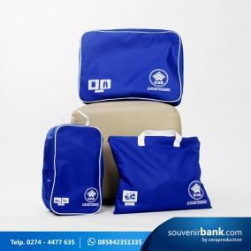 souvenir bank - travel kit milik bpr kusuma sumbing